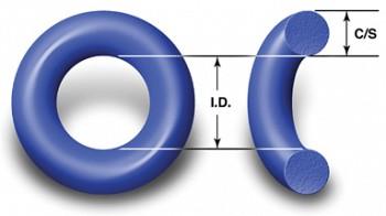 "235 TEFLON O-RING 3-1//8/"" ID X 3-3//8/"" OD X 1//8/"" CS ONE O-RING"